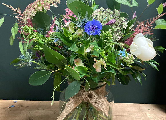 Briony Bouquet in Vase