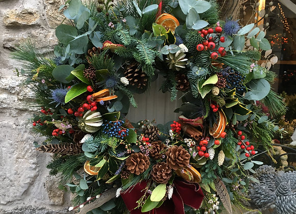 Large luxury wreath