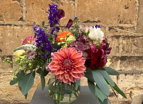 Bowl of British blooms
