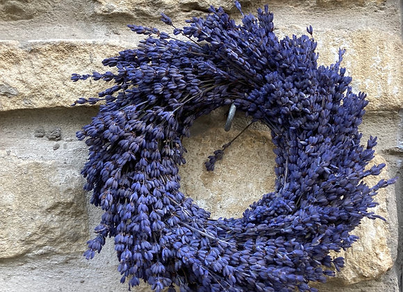 Mini Lavender wreath