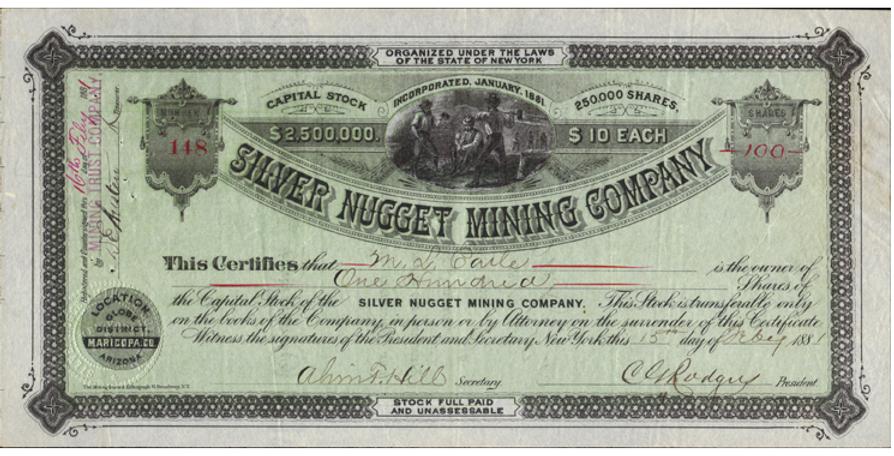 silver_nugget_mine_certificate_DG_Chilso