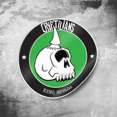 Cryptilian's Round Sticker