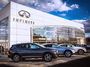 Infiniti Car Dealership Wexford, PA