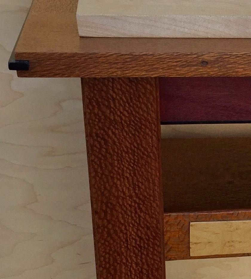 sofa table detail