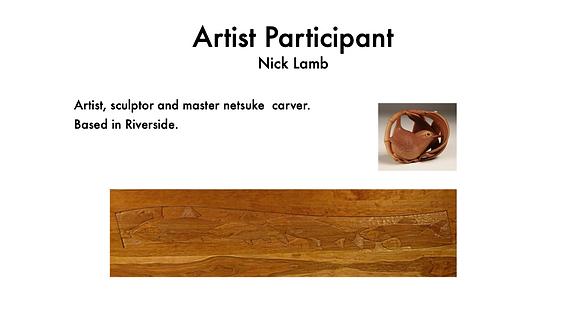 NICK LAMB SCULPTOR, NETSUKE ARTIST
