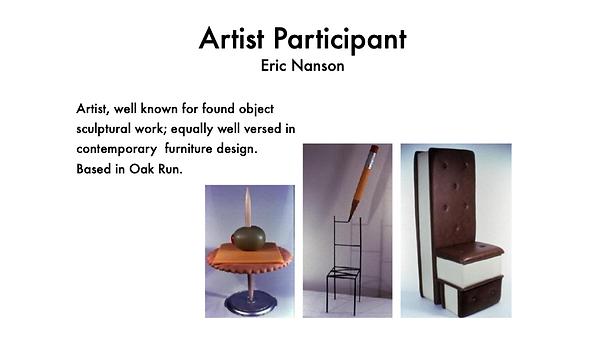 ERIC NANSON CONTEMPORARY ARTIST