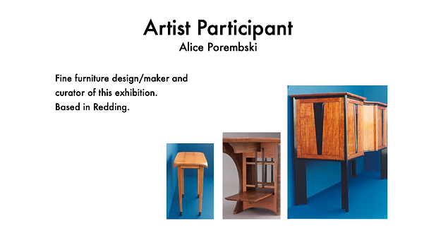 ALICE POREMBSKI FURNITURE DESIGNER - MAKER