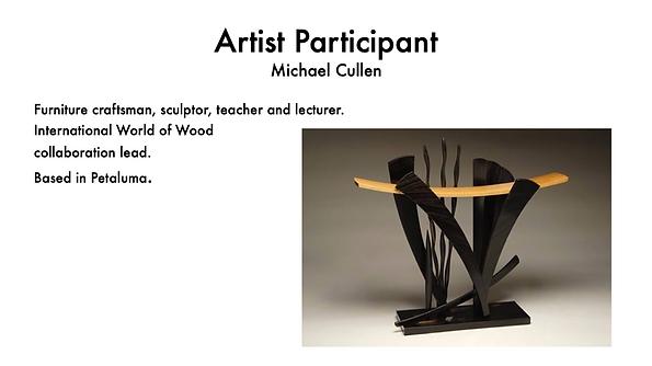 MICHAEL CULLEN FURNTURE ARTIST