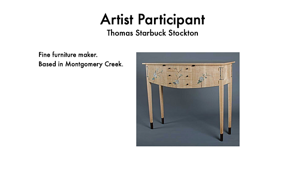 THOMAS STARBUCK STOCKTON FINE FURNITURE ARTIST