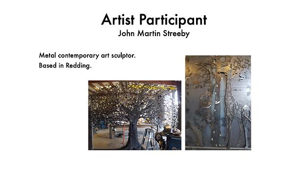 JOHN MARTIN STREEBY SCULPTOR - METAL ARTIST
