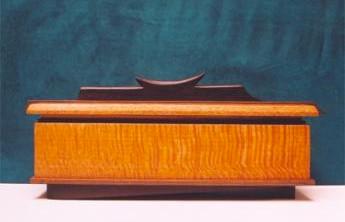 lacewood ebony box