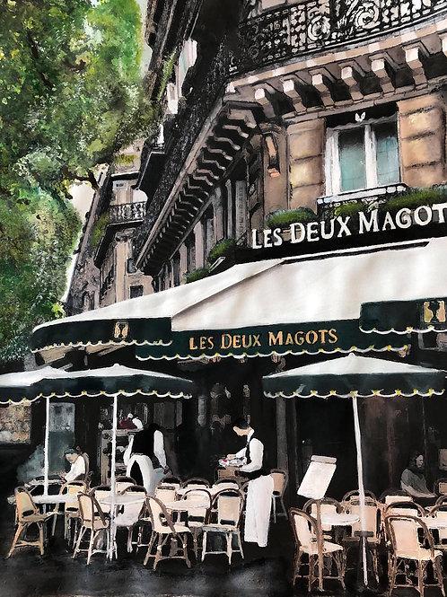 LE DEUX MAGOTS