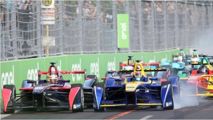 Schon im Juni rasen die Formel-E-Boliden durch Zürich. (Archiv)  © KEYSTONE