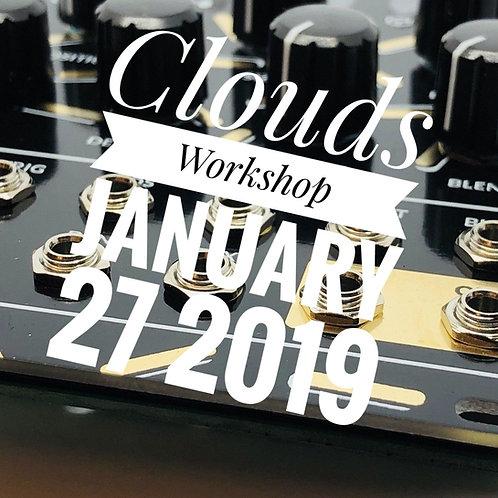 DIY Workshop #4 - Clouds - January 27 2019