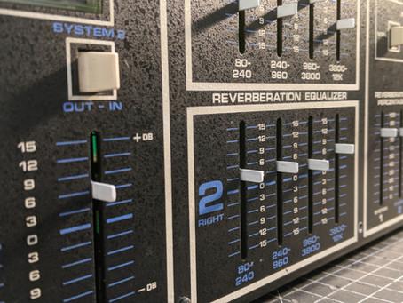 Tapco 4400 Reverberation Machine Restoration
