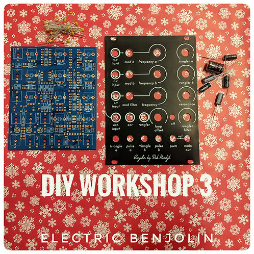 DIY WORKSHOP #3 - BENJOLIN - December 16th 2018