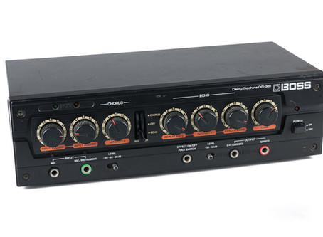 Boss DM-300 Delay Switch Replacement