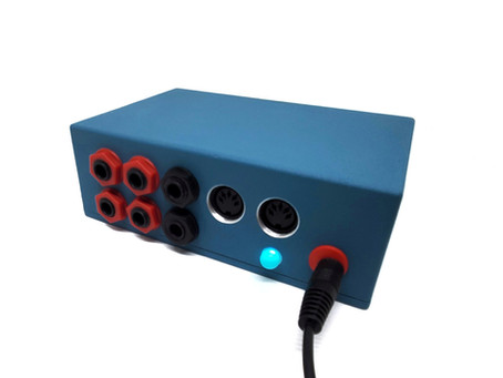 MIDI Controlled Dual Stereo Audio Switch/Mixer