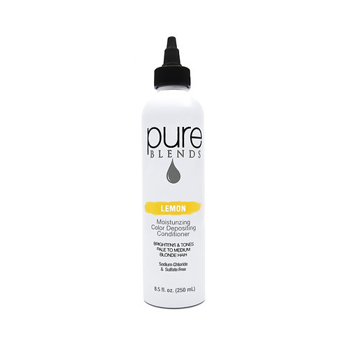 Pure Blends Lemon Moisturizing Color Depositing Conditioner