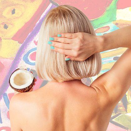 coconut crush shampoo girl