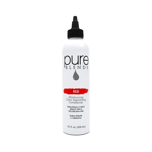 Pure Blends Red Moisturizing Color Depositing Conditioner