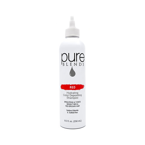 Pure Blends Red Hydrating Color Depositing Shampoo