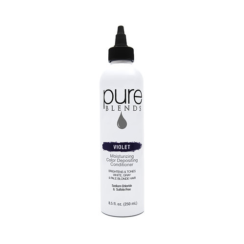 Pure Blends Violet Moisturizing Color Depositing Conditioner