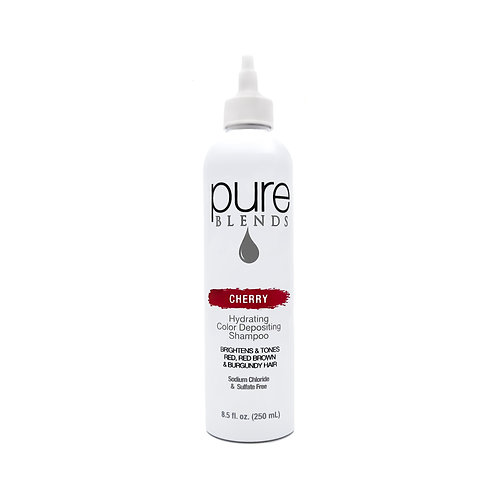 Pure Blends Cherry Hydrating Color Depositing Shampoo