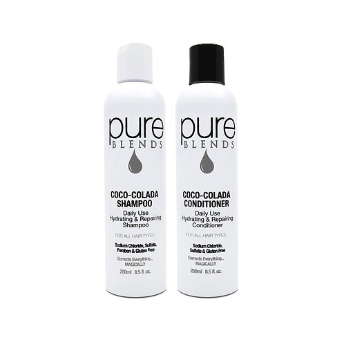 Pure Blends Coco-Colada Cleanse & Condition Duo