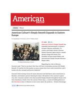 American Salon online press on Eastern E