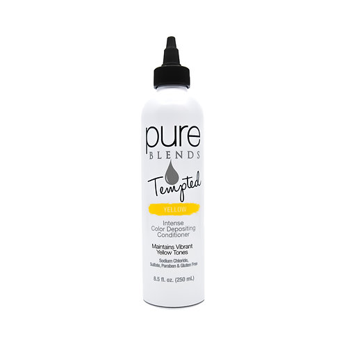 Pure Blends Tempted Yellow Intense Color Depositing Conditioner