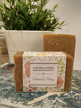 Oatmeal & Honey Soap, Surrey BC, Lower Mainland, Handmade soap, essential oils