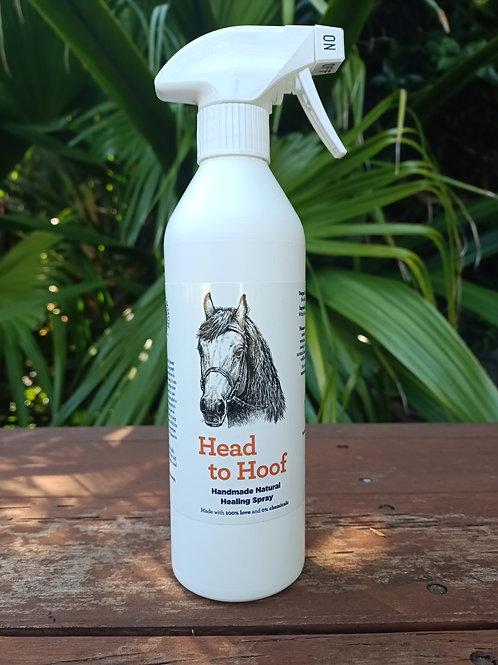 Head to Hoof Healing Spray 500ml