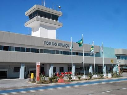 Obras no Aeroporto de Foz do Iguaçu