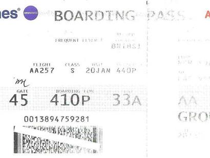 Por que é Perigoso Postar Fotos do Cartão de Embarque ?