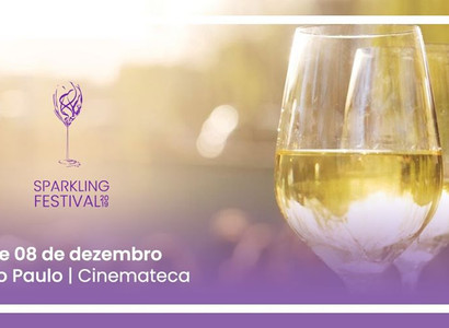 Sparkling Festival, evento de espumantes e vinhos de verão, chega à Cinemateca de São Paulo