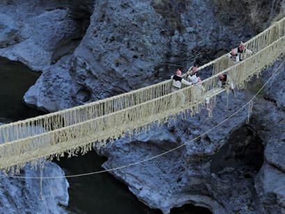 Conheça a Ponte Q'swachaka no Peru