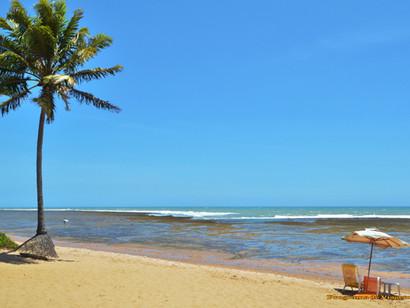 Desfrutar de sol e praia são os destinos mais procurados por estrangeiros.