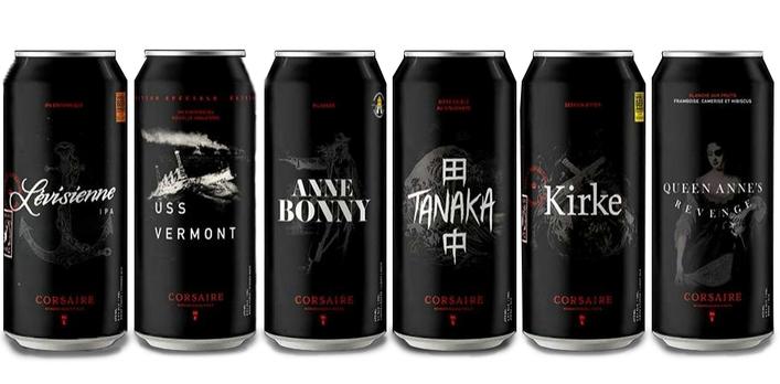 Le Corsaire Beer Lineup