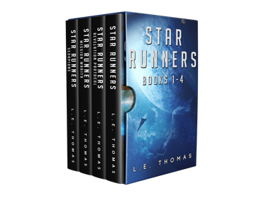Star Runners 1-4 E-book Bundle Now Available