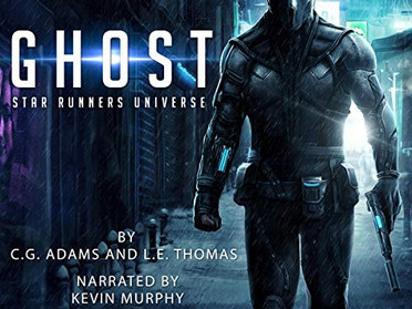 Ghost: A Star Runners Universe Novel is available on Audiobook Now!