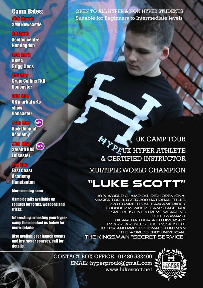 Announcing my UK Tour!