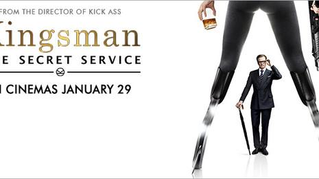 Kingsman: The Secret Service is out now!