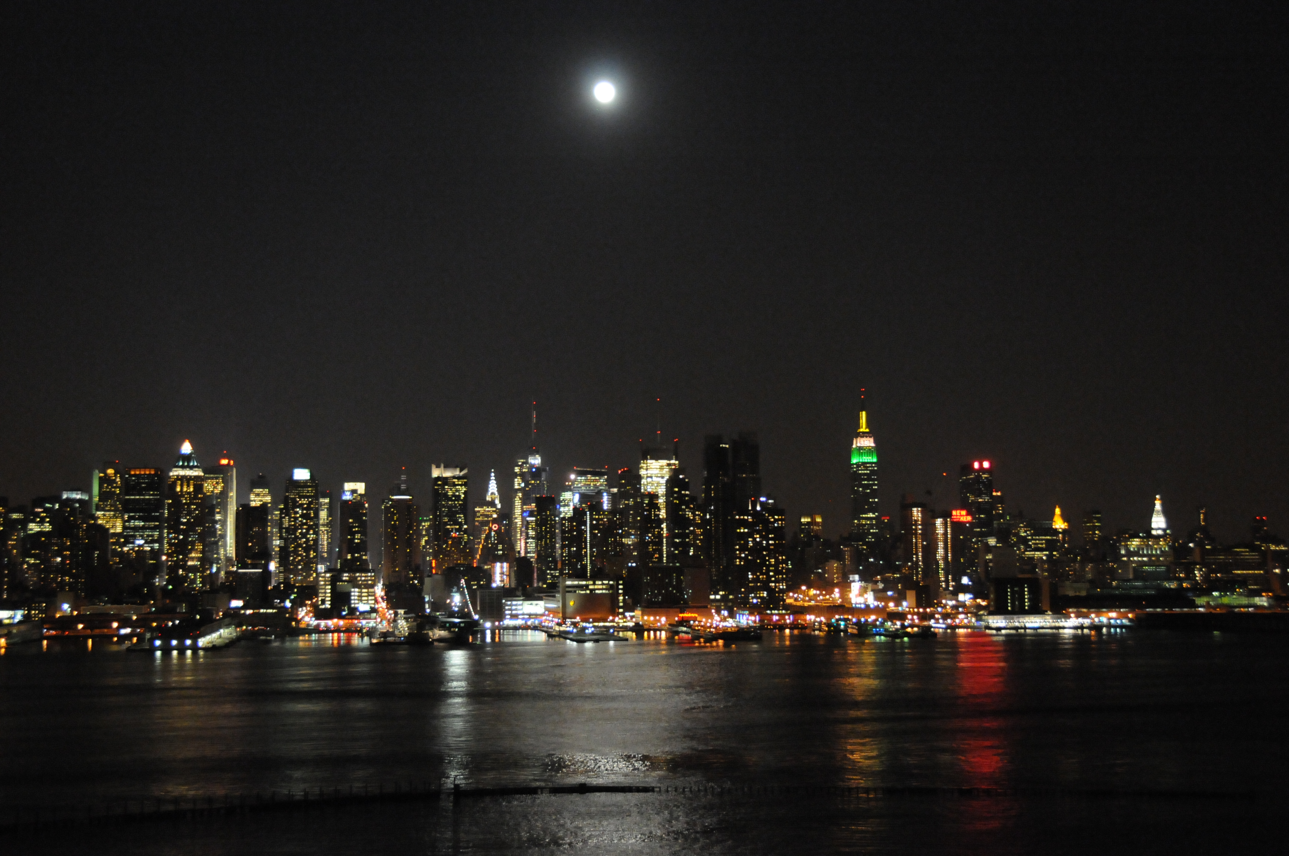 NYC from across the Hudson River