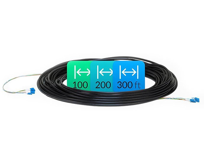 Ubiquiti Fiber Cable, Single Mode, 100'
