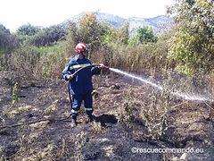 Πυρκαγιά στον Άγιο Βαρνάβα Λούρου