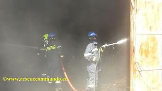 Συνδρομή σε πυρκαγιά αποθήκης στην ΒΙΠΕ