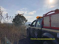 Συμμετοχή σε πυρκαγιά στο Λούρο