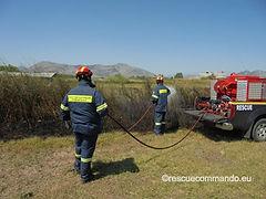 Συμμετοχή σε φωτιές στο Καλαμίτσι και Λούρο