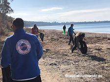 Καθαρισμός ακτής Μονολιθίου